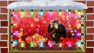 видео Прикольные подарки на Новый год 2016 Обезьяны друзьям какие можно сделать?