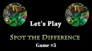 Spot the Difference - Game #5 - A LEGO Minecraft Game