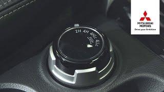видео Mitsubishi Outlander привод S-AWC межосевой и межколесный дифференциал