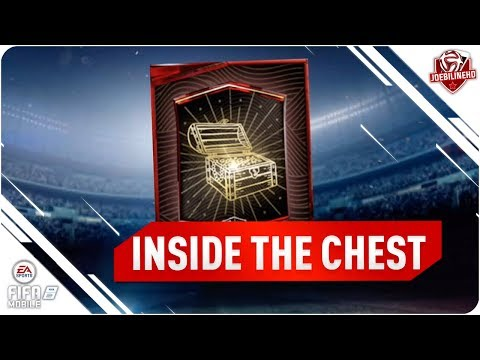 FIFA MOBILE OPENING THE ELITE TREASURE CHEST #FIFAMOBILE TREASURE HUNT REWARDS PACK OPENING