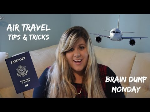 Air Travel Tips and Tricks