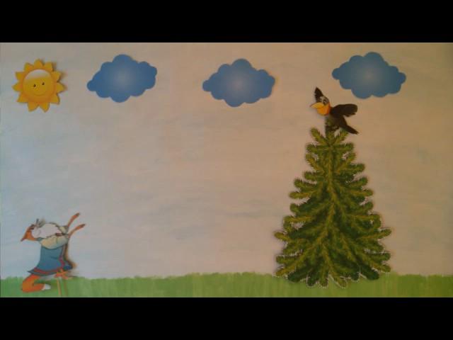 Изображение предпросмотра прочтения – «3 В класс» читает произведение «Ворона и Лисица» И.А.Крылова