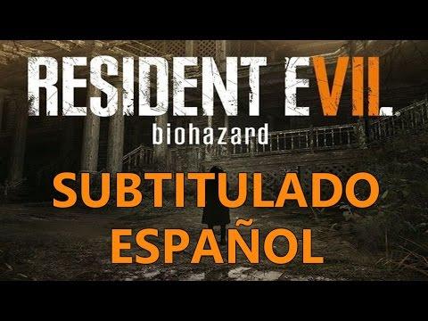 Resident Evil 7 Biohazard Trailer E3 2016 Subtitulado Español HD