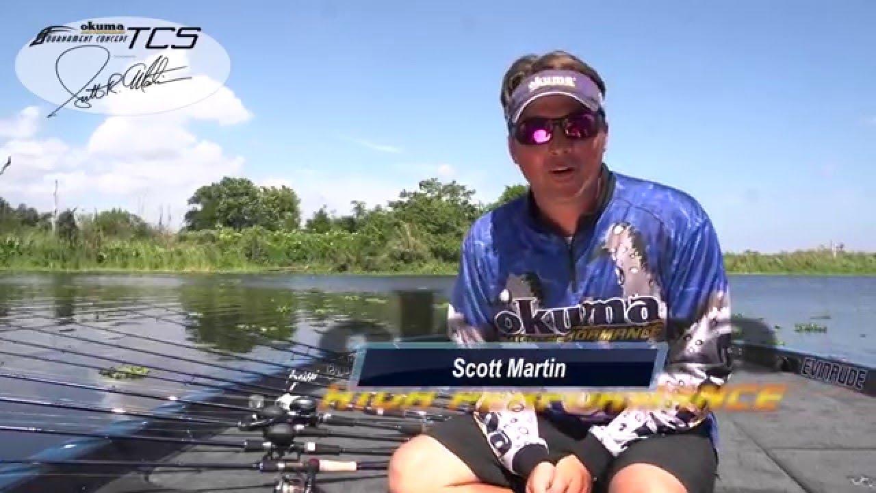 Scott martin introduces the new okuma tcs rods youtube for Okuma fishing usa