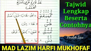 Mad Lazim Harfi Mukhaffaf | Mad Lazim Harfi Musyba Mukhaffaf