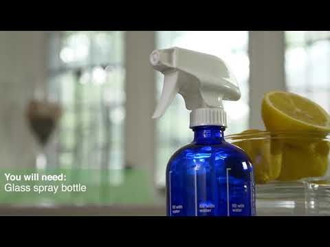 DIY  Furniture Polish with Arbonne Essential Oils
