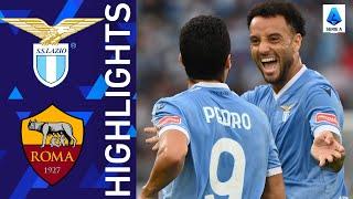 Lazio 3 2 Roma Lazio win the Roma Derby Serie A 2021 22