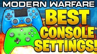 SUB and Drop a LIKE! Modern Warfare Best Settings PS4/Xbox Best Console Settings COD Modern Warfare! In this video I talk about the new options and cover ...