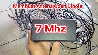 Membuat Antena Radio 7Mhz 40 Meter Band
