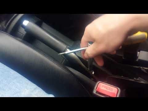 Как отрегулировать ручной тормоз на хендай гетц