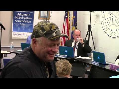 Tipton Community School Corporation Board Meeting 11/12/19