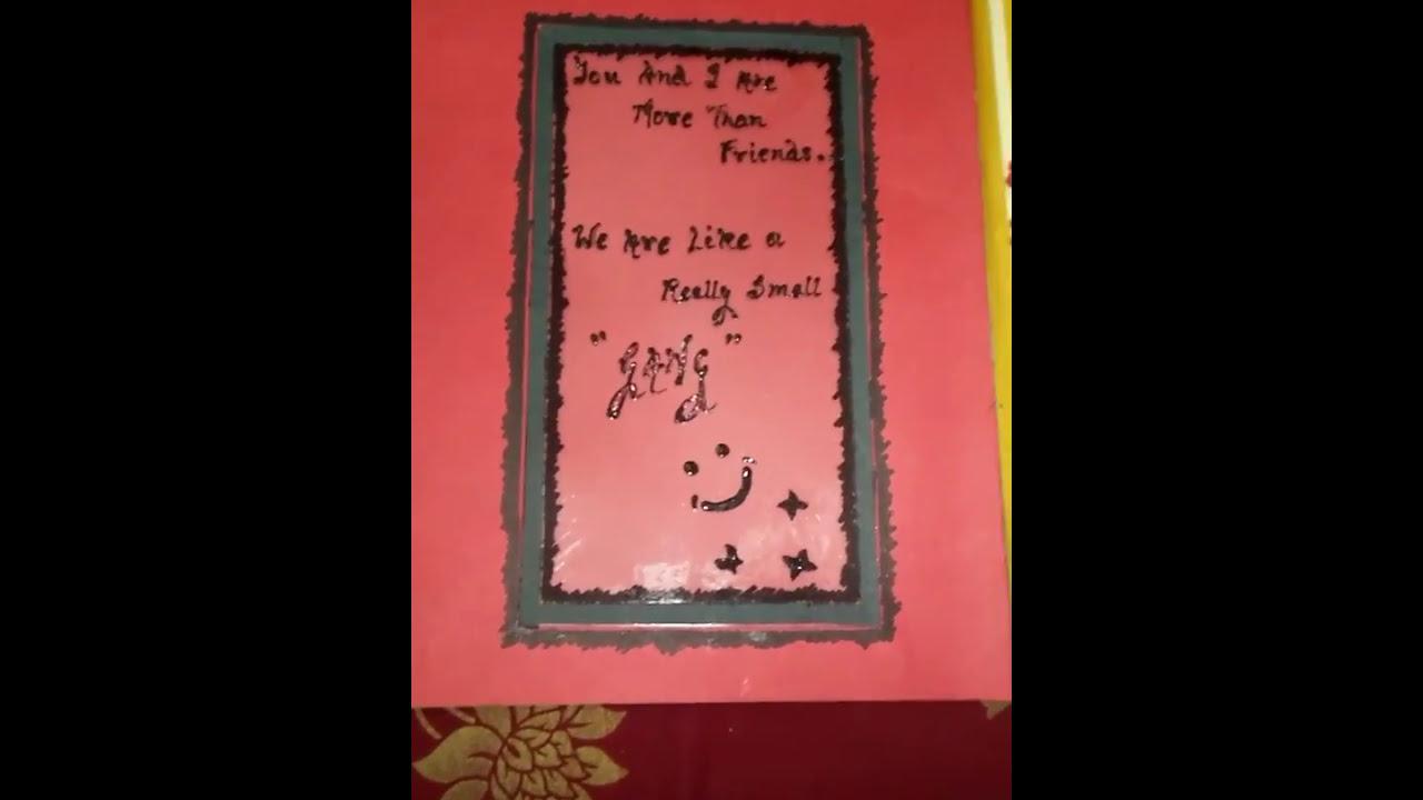 Easy Handmade Scrapbook Ideas For Boyfriend Or Girlfriend Youtube