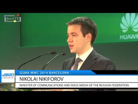 MWC-2014 - Nikolay Nikiforov - Russia - Json TV