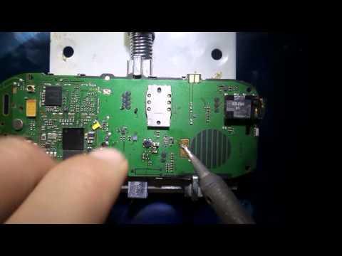طريقة اصلاح عطل الاضاءة لنوكيا Lcd Display Light Nokia 1616