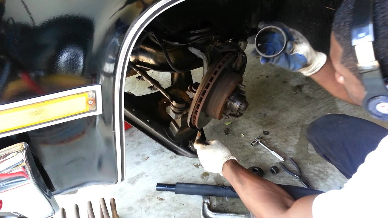 How To Replace Ball Joints Easily On 1987 Chevrolet