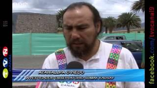 Colectivo Kitu Milenario, recordó 480 años de la muerte de Atahualpa. (Noticias Ecuador)