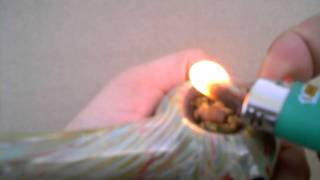 Hashish - Blueberry Moon Rock Test.wmv