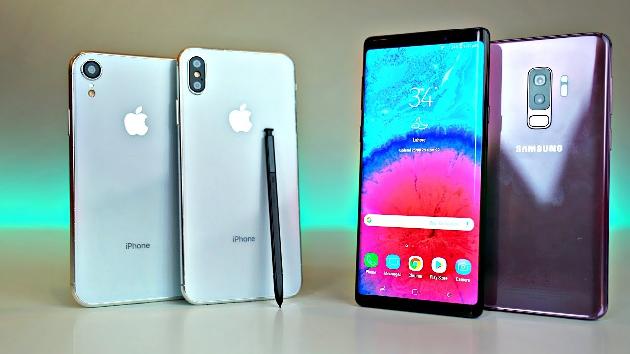 Iphone Xr Vs Note 9
