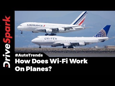 How Does Wi-Fi Work On Planes? - DriveSpark
