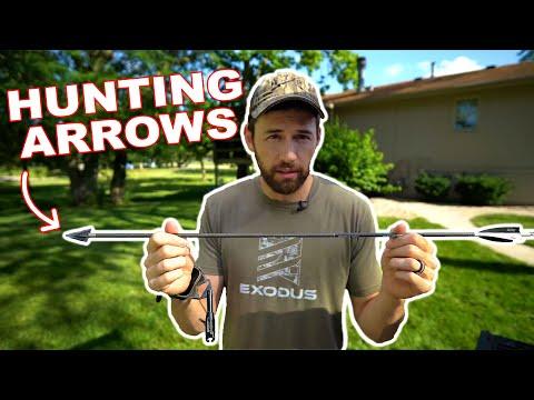 SLOW MOTION ARROW TUNING!!! – (Choosing Hunting Arrows)