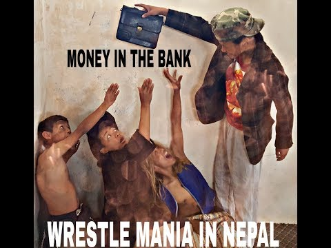 WRESTLING  IN NEPAL ( FUNNY VIDEO) 2018.TRUST UNITED