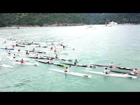 2017 ICF Canoe Ocean Racing World Championships Men Race Start 19/Nov.17