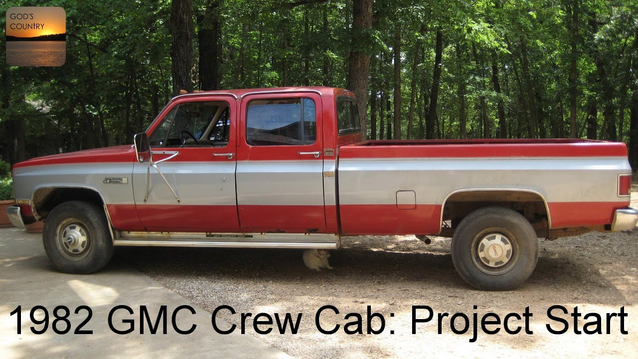 A Project Begins: 1982 GMC 1 Ton Crew Cab - YouTube