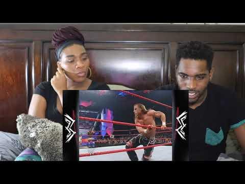 WWE SHAWN MICHAEL BEST SWEET CHIN MUSIC REACTION
