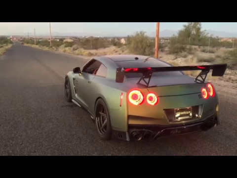 2017 Nissan Gt R Armytrix Valvetronic Exhaust Review Price Revs Sound Accelerations