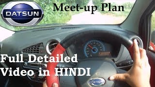 Datsun Redi-Go | Hindi | Meet-Up Plan | Delhi-NCR | Haldwani