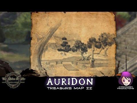 ☆ Elder Scrolls Online ☆ - Auridon Treasure Map II - YouTube