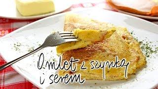 Omlet z szynką i serem | Smaczne-Przepisy.TV