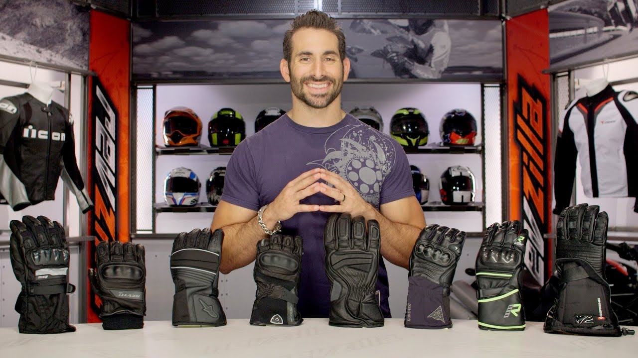 Motorcycle gloves guide - Fall 2014 Waterproof Motorcycle Gloves Buying Guide At Revzilla Com