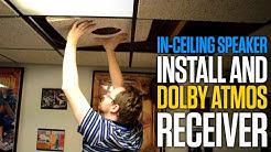 Dolby Atmos Ceiling Speaker Install & Pioneer VSX-1131-K Receiver - SuperStarcade