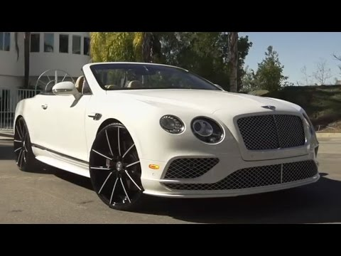 2016 Bentley Continental Gt On Lexani Wheels Youtube