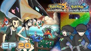 Gameplay Live Pokémon Ultrasole e Ultraluna #20 - Dentro il Castello di Giovanni!