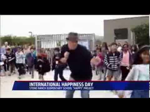 Stone Ranch Elementary School - Happy (San Diego Fox 5 News)