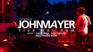 John Mayer - Going to California / Stop This Train (live)