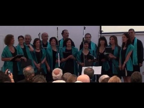 Andalus Arabic Choir performing at the Sydney West Wind Greek Festival, April 2013
