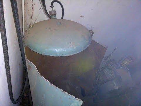 Компрессор СО-7Б.  Взрыв 200 литрового ресивера.   💥🤬😭