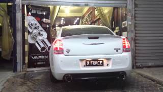 Chrysler from kuwait with xForce (varex) exhaust