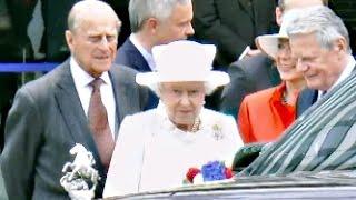 Queen Elizabeth II 2015 in Berlin / Deutschland
