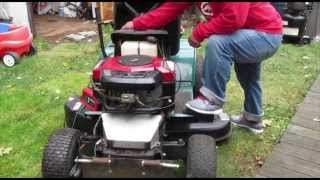 18 hp briggs and stratton misfire and won't start... problem fixed