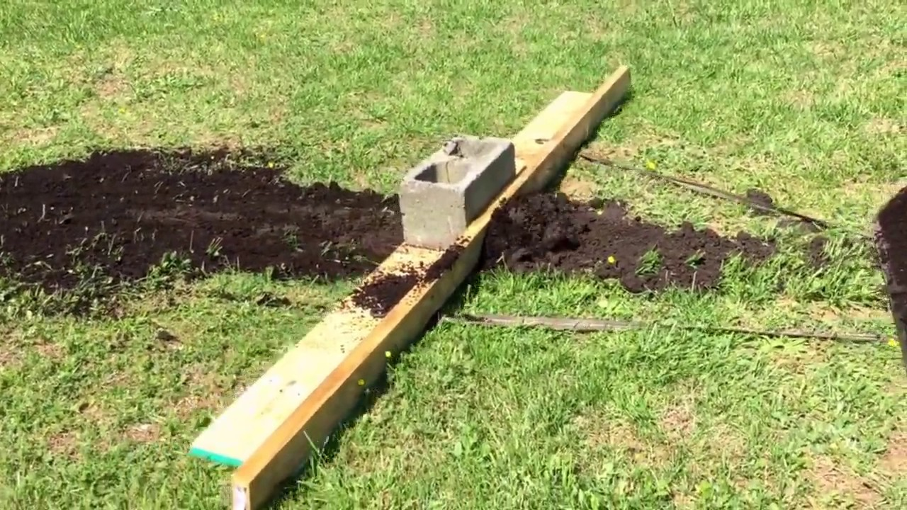 Home Made Grader Blade Youtube