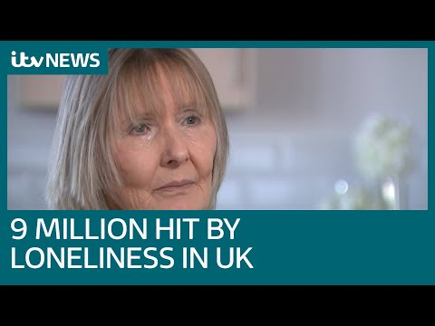 Loneliness in the UK: 'I go to supermarket just to talk to someone' | ITV News