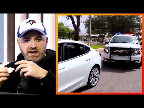 Empty Tesla Gets Pulled Over For Infraction