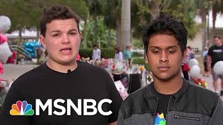 connectYoutube - Douglas Shooting Survivors To President Donald Trump: Is Money More Valuable Than Children | MSNBC