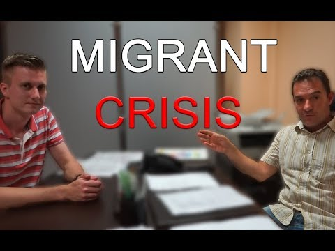 """MIGRANT GET MOBILE PHONE"" - Interview with Sicilian"