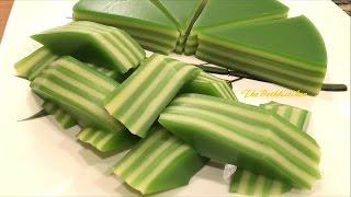 Bánh Da Lợn Đậu Xanh/Lá Dứa - Steamed Vietnamese Layers Cake