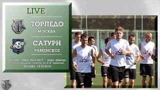Torpedo Moscow vs Saturn Ramenskoye full match